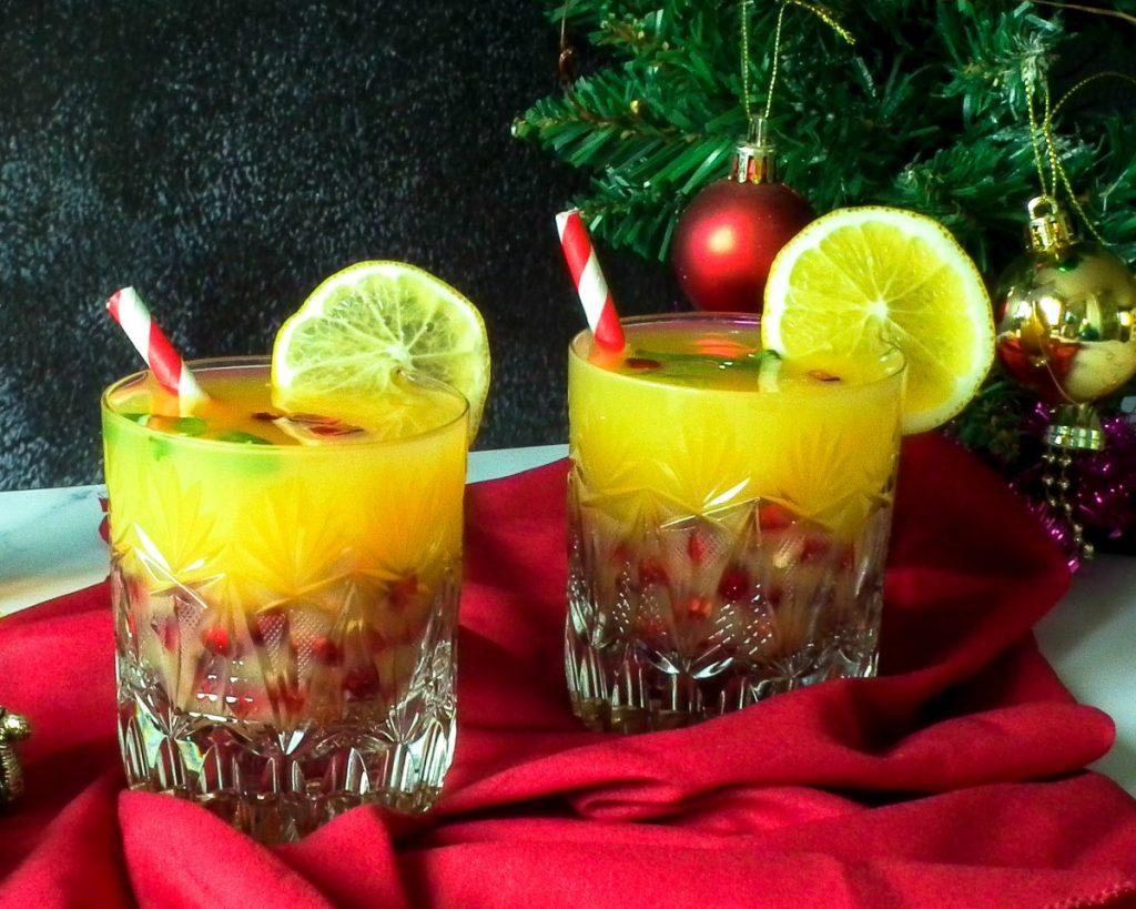 Holly Jolly Christmas cocktail