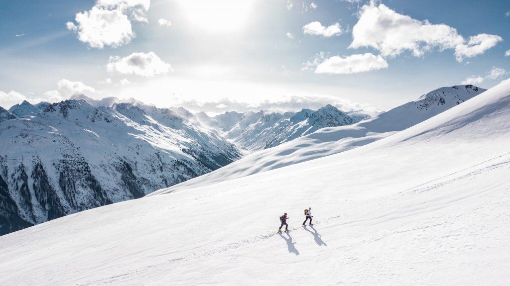 Winter skiing trip