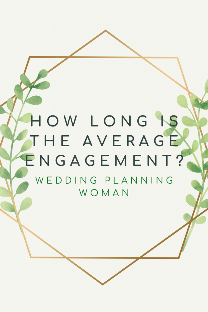 How long is the average engagement? Wedding Planning Woman