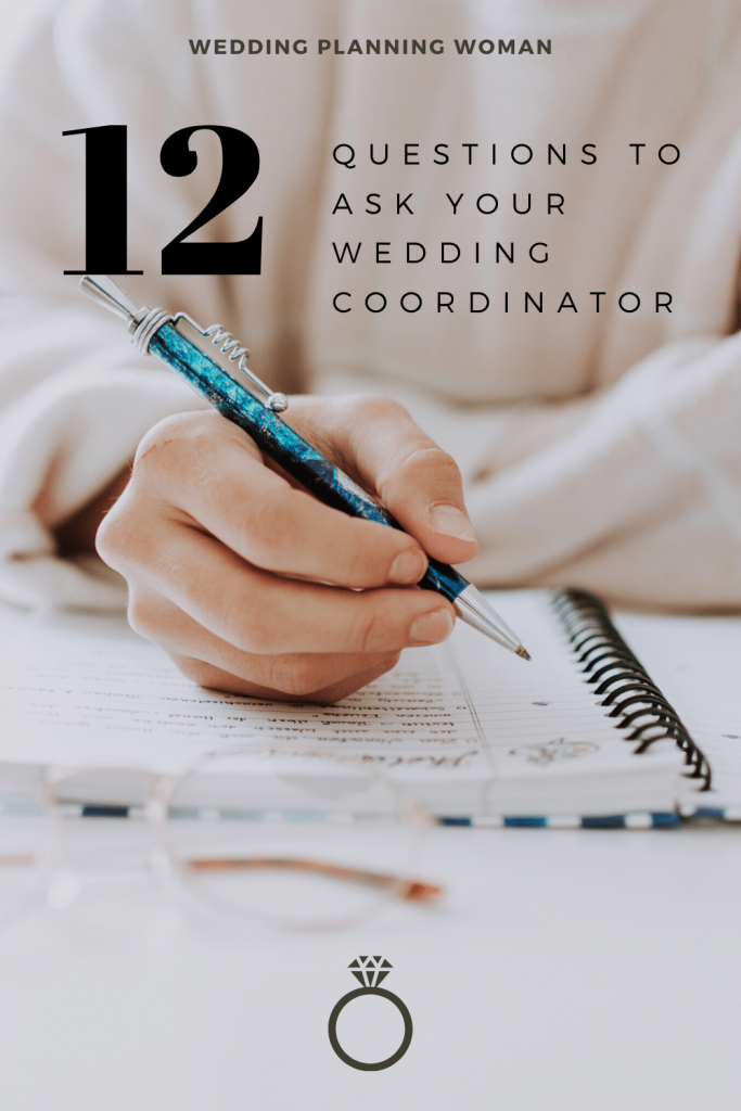 12 questions to ask your wedding coordinator