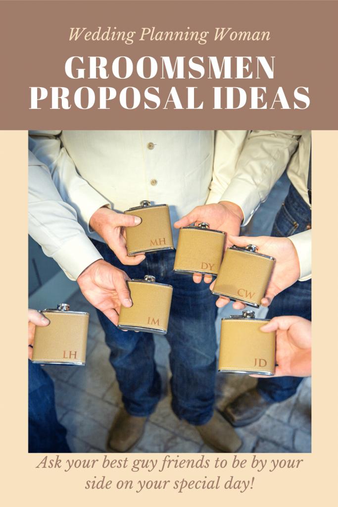Groomsmen Proposal Ideas