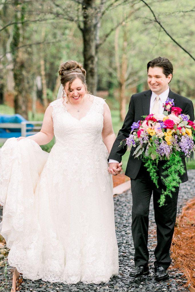 Samantha's Covid wedding story
