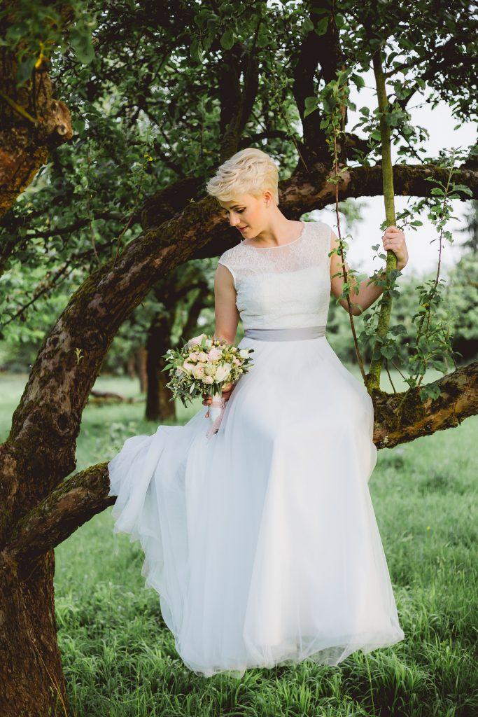 Bridal hairstyle -  hair