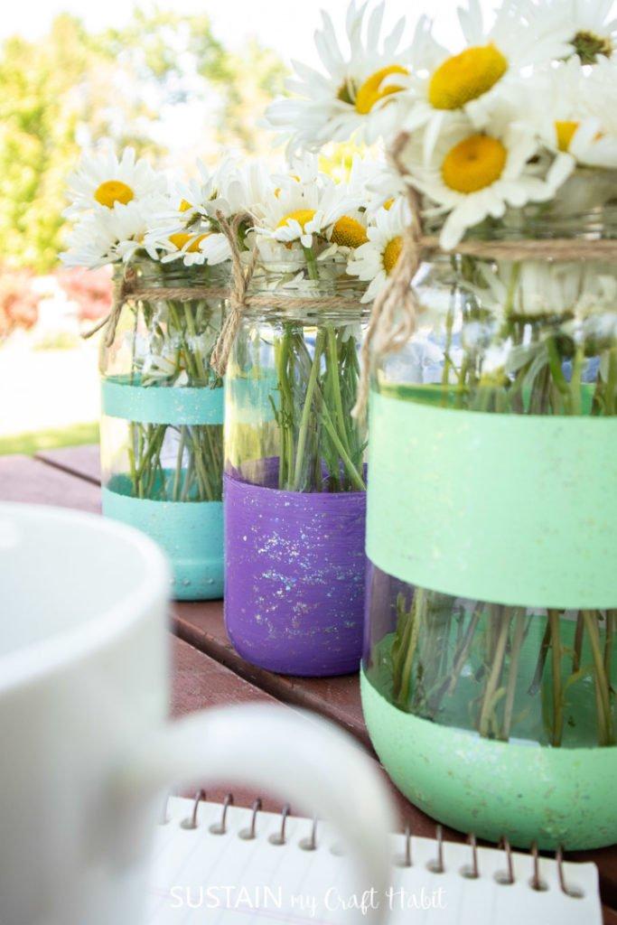 Colorful Flower Vases